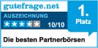 Zwycięzca portalu gutefrage.net jako najlepszy serwis randkowy